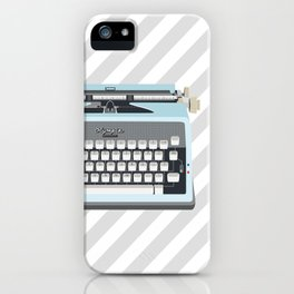 Olympia - Miss Vintage type iPhone Case