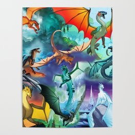 Wings Of Fire Character Poster