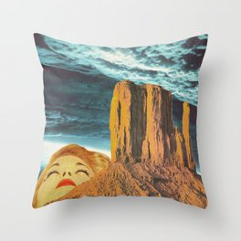 Sighs from heaven Throw Pillow