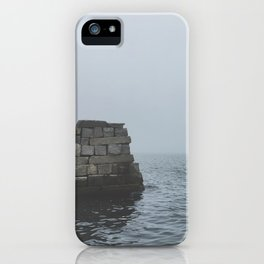 Foggy Cove iPhone Case