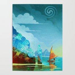 Moana lagoon Poster