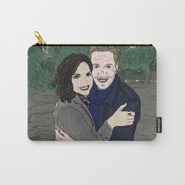 Outlaw Queen Post Card (Forest Adventures) Carry-All Pouch