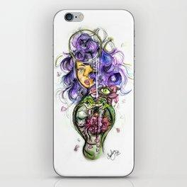 Rose in bloom iPhone Skin