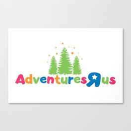 Adventures R Us Canvas Print