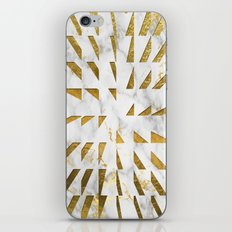 Marble and Gold Pattern #4 iPhone & iPod Skin