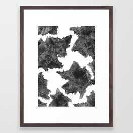 Asteroids are talking Framed Art Print