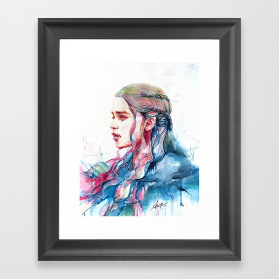 Dragonqueen Framed Art Print