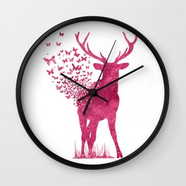 And Love Will Grow Wall Clock