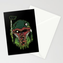 Monster Fett Stationery Cards