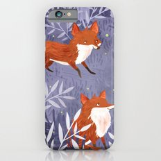 Foxes and Fireflies Slim Case iPhone 6s