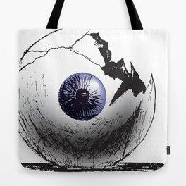 Broken Eye Tote Bag