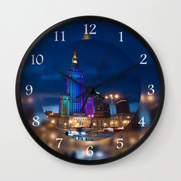 Palace of Culture and Science Wall Clock