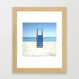 Ladder to the Skies Framed Art Print