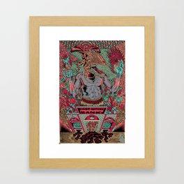 First National Bank Framed Art Print