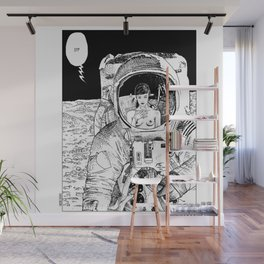 asc 333 - La rencontre rapprochée ( The close encounter) Wall Mural