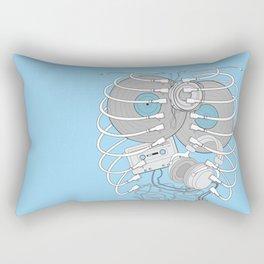 Internal Rhythm Rectangular Pillow