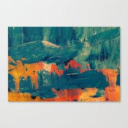 Water color splash Canvas Print