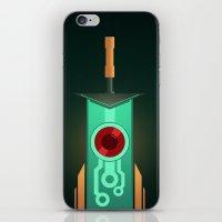 transistor iPhone & iPod Skins featuring Transistor [2] by Spiritius