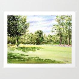 Perry Golf Course Florida Art Print