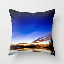 Colorful heaven Throw Pillow