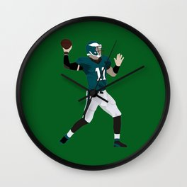 Carson Wentz Wall Clock