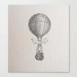 Hot air Ballon Canvas Print