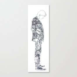 Man Of Things Canvas Print