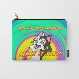 Niels Feynman | Erwin hates Mondays Carry-All Pouch
