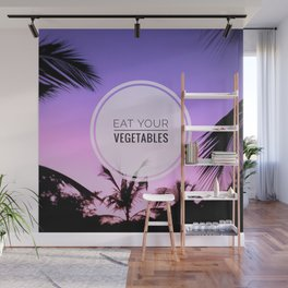 Motus Operandi Collection: Eat your vegetables Wall Mural
