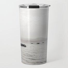 Misty Beach Travel Mug