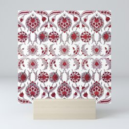 Fantasy Roses - Art Nouveau Retro Mini Art Print