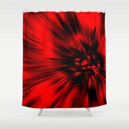Savage Inferno Shower Curtain