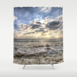 Birling Gap Angel Light Shower Curtain