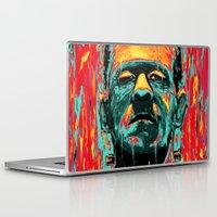 frankenstein Laptop & iPad Skins featuring Frankenstein by nicebleed