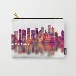 New Orleans Louisiana Skyline Carry-All Pouch