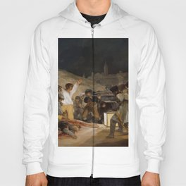 El 3 de mayo en Madrid o ''Los fusilamientos'' - Goya Hoody