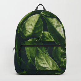Greenery Pattern (Color) Backpack