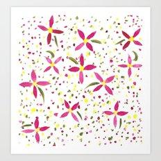 Petals and Joy Art Print