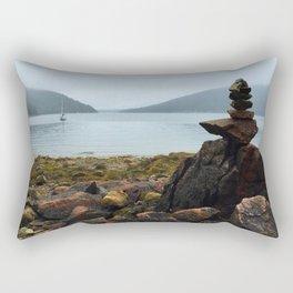 Acadia Cairn Rectangular Pillow
