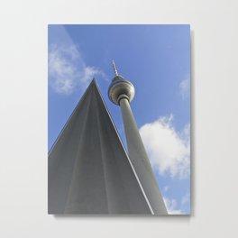 Berlin TV Tower, Alex Metal Print