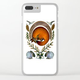 The Fox Lay Dying Clear iPhone Case