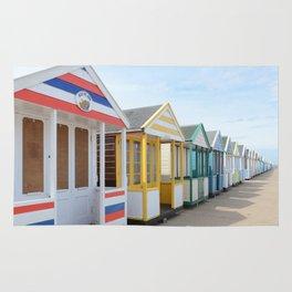 Beach Huts Rug