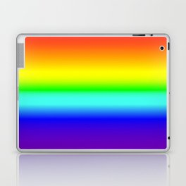 Vivid Rainbow Gradient Laptop & iPad Skin