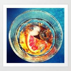 Happy Drink Art Print