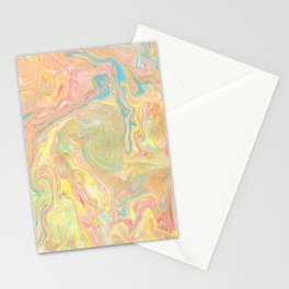 Summer Sherbet Marble Stationery Cards