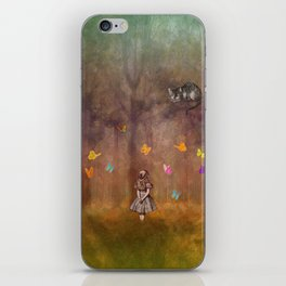 Wonderland Forest iPhone Skin