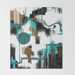Deco Night Throw Blanket