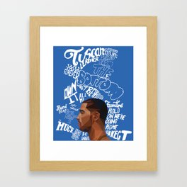 Nothing Was the Same  Framed Art Print