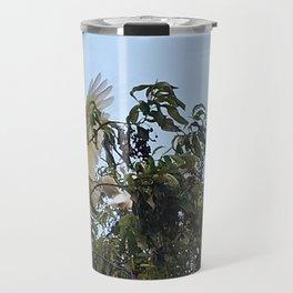 Young Cockatoos Travel Mug