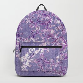 A Taste of Lilac Wine Backpack